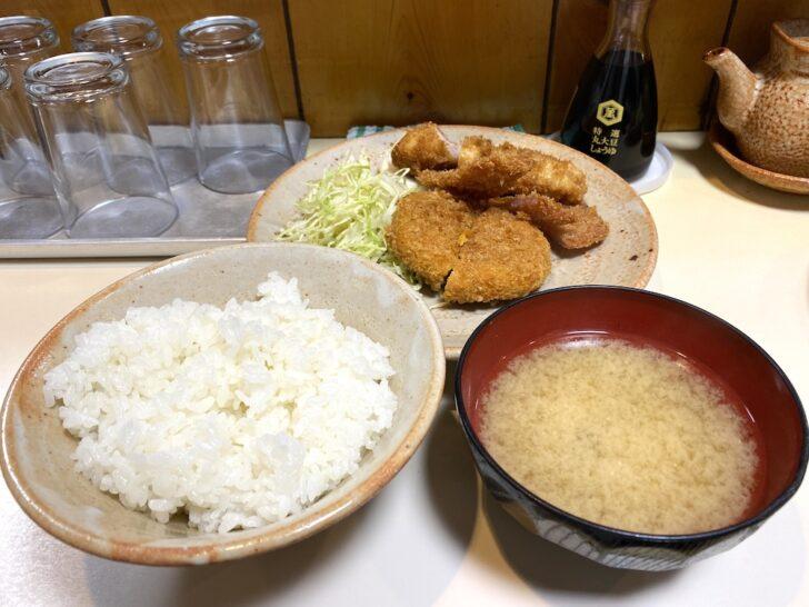 渋谷「とりかつチキン」 隠れた名店で味わう組み合わせ自由自在の揚げ物定食